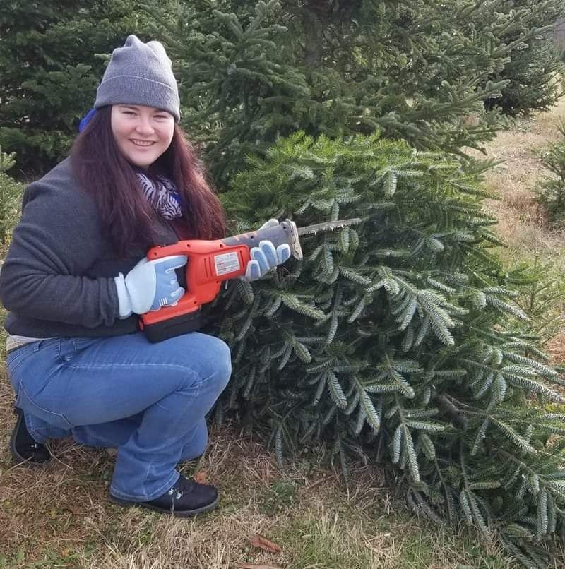 Yesterday was the beginning of firearms season in Maryland, my sister joined in on all the facebook pictures with a kill of her own.