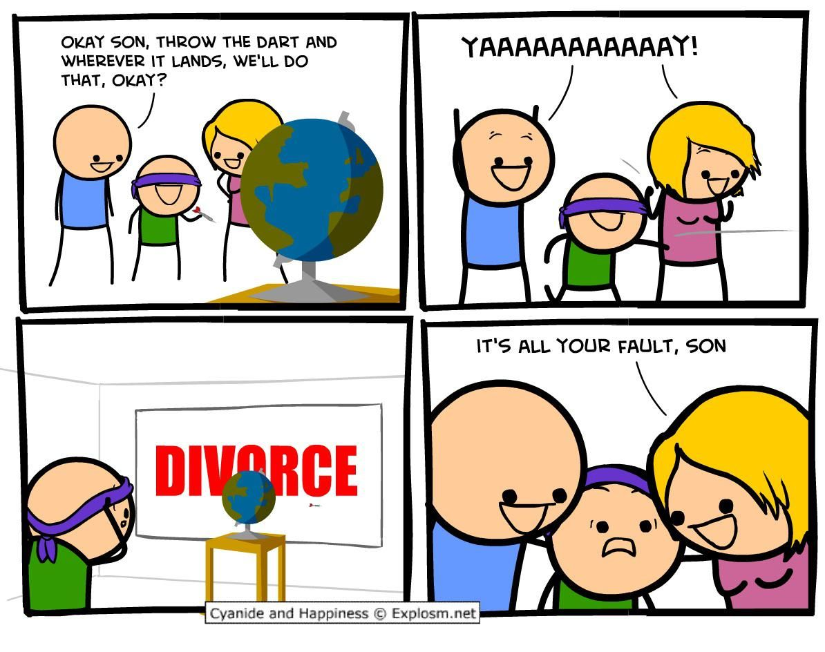 A little bit of cyanide and happiness