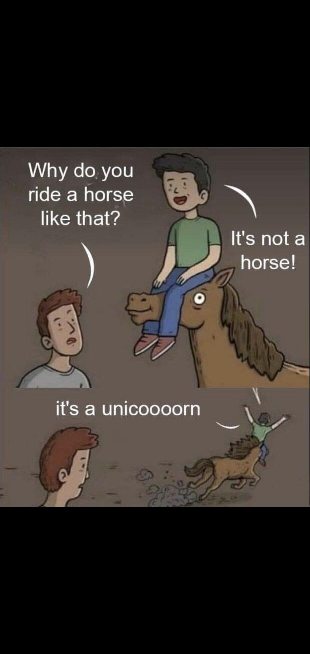 It's a unicoooorn!