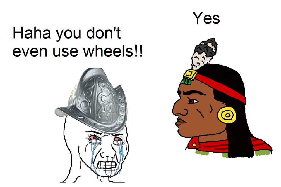 Where we're going we dont need wheels