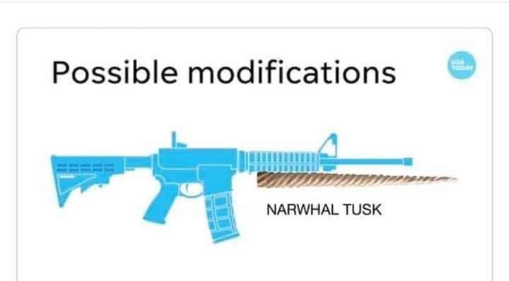 No one NEEDS a Narwhal Tusk. They only breed more Narwhal Tusk crime.