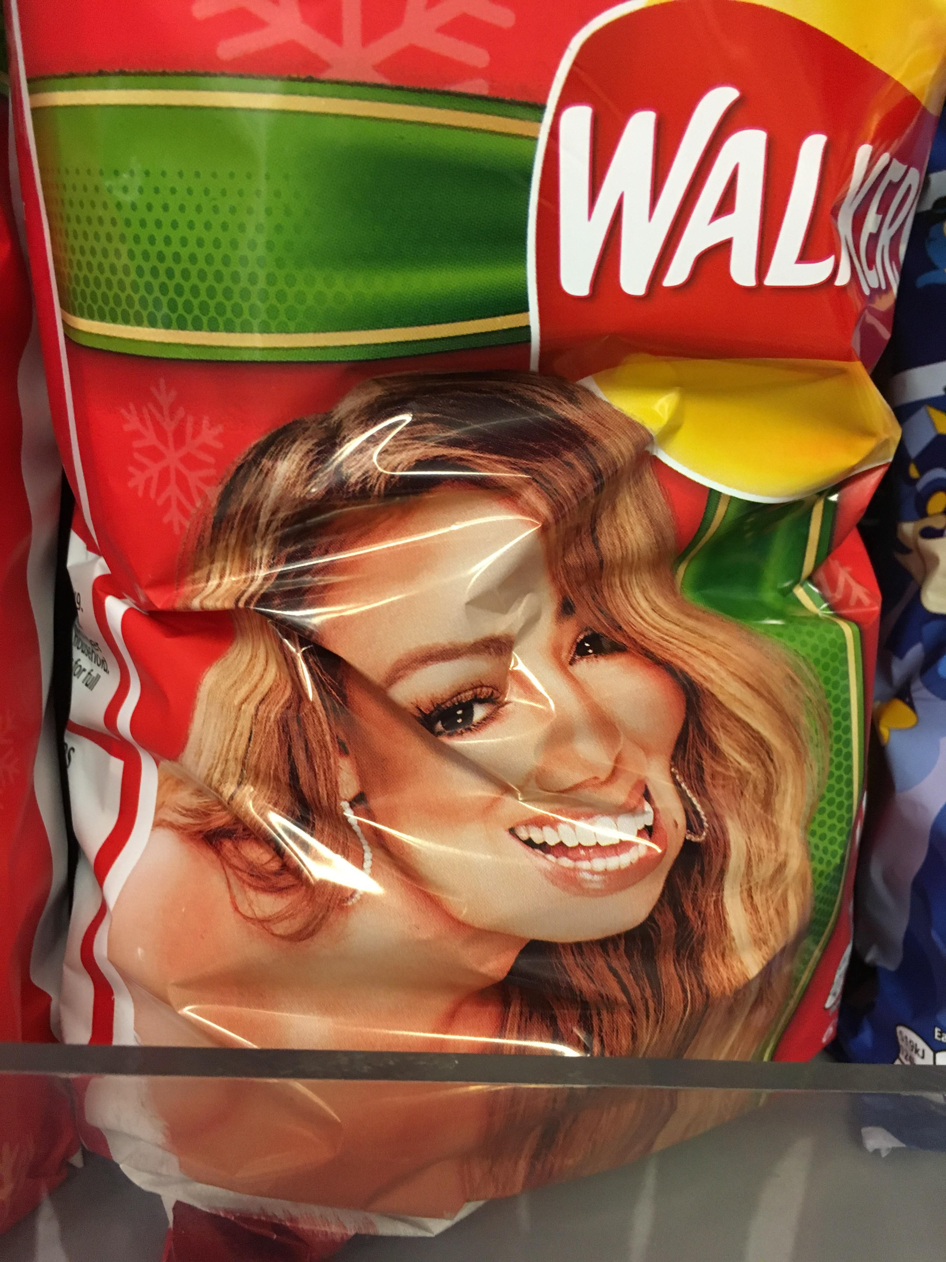 This is why you don't put people on packaging