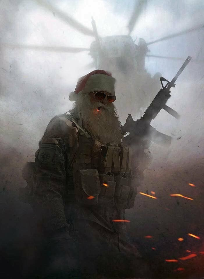 Someone's ready for the war on Christmas
