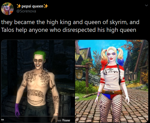 finally a way to show you're a gamer in Skyrim