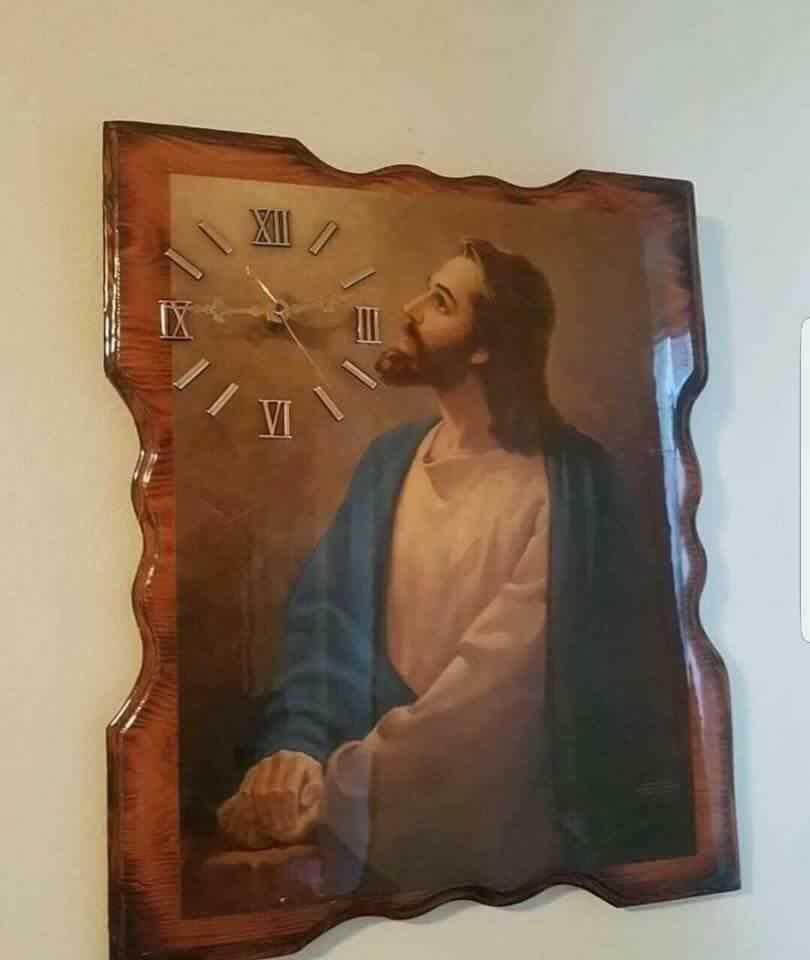 Jesus Christ would you look at the time!