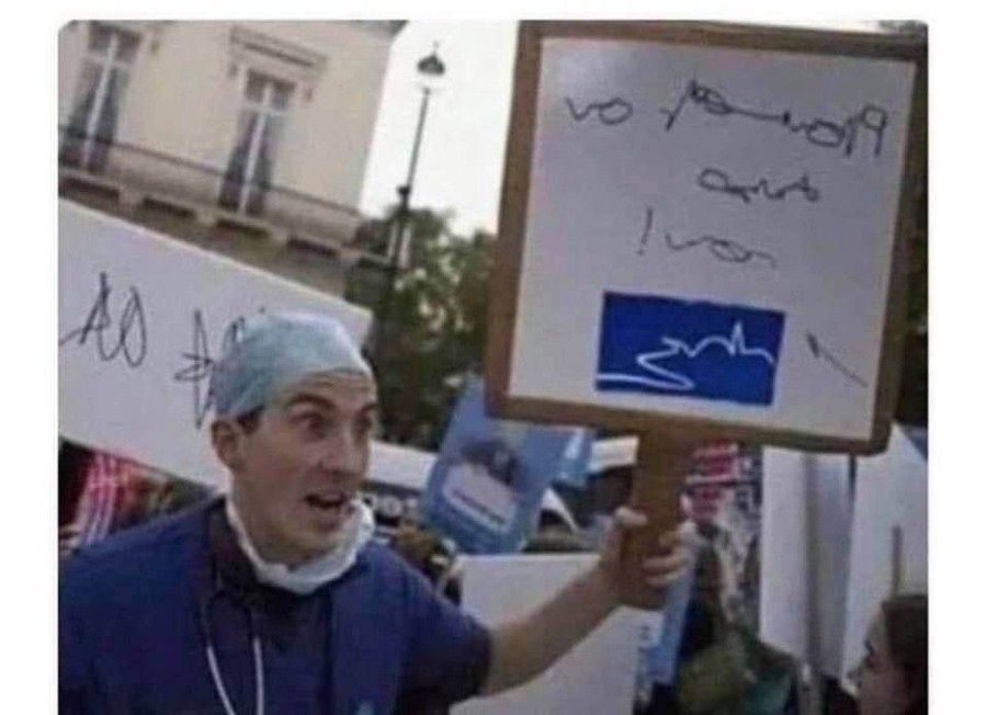 Doctors have gone on strike but their demands are unclear