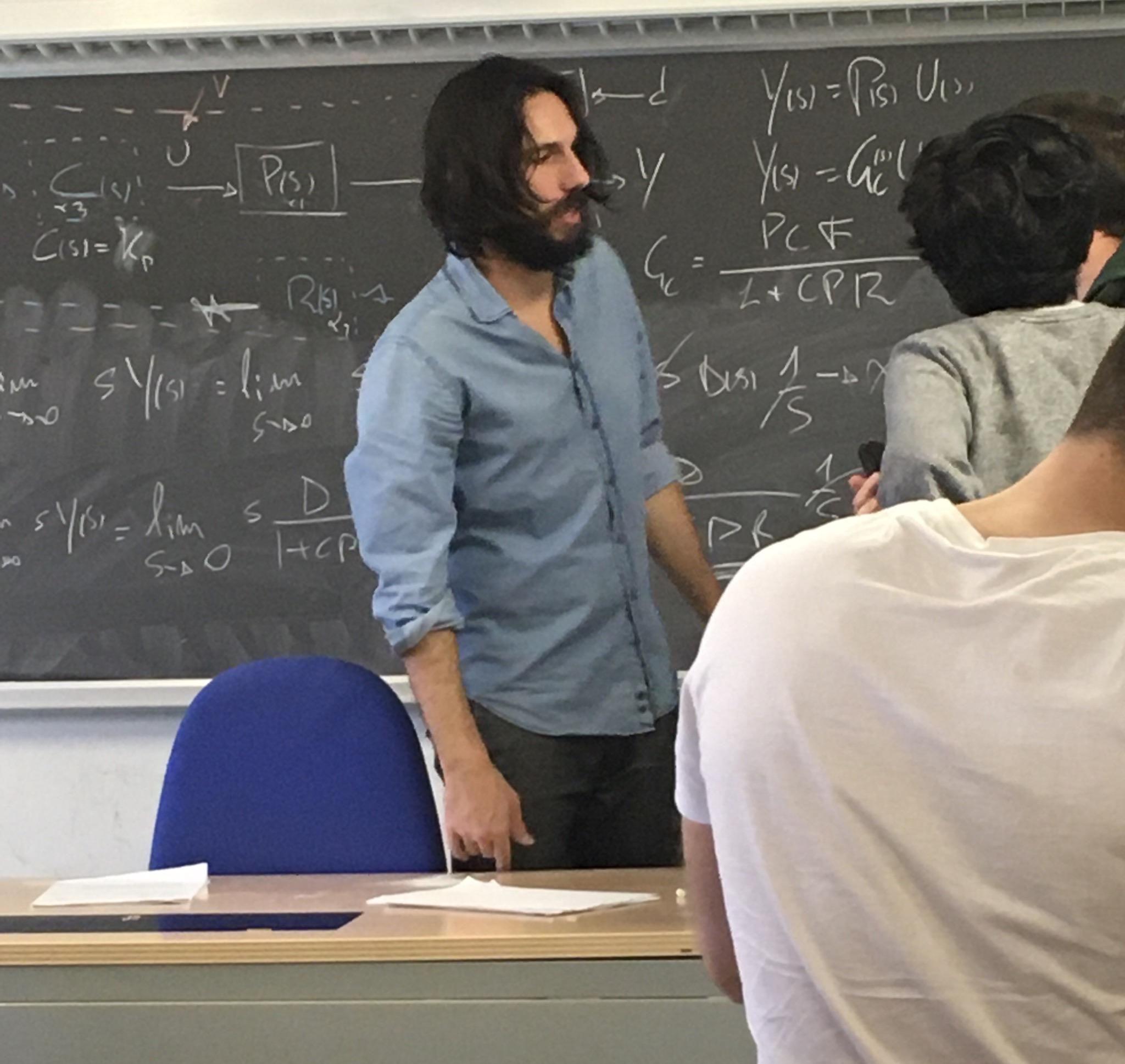 My professor is Keanu Reeves