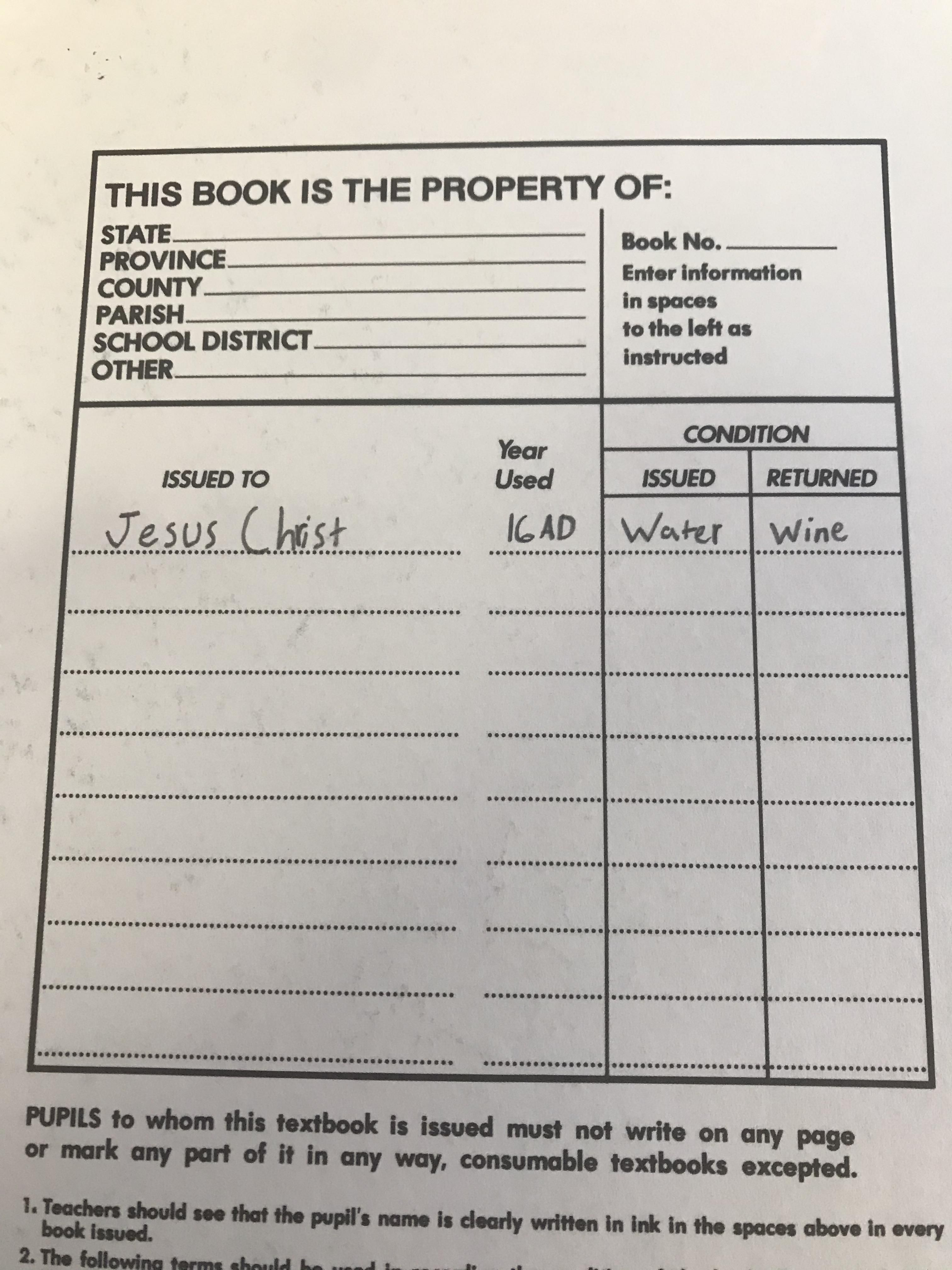 Is this textbook Gospel?