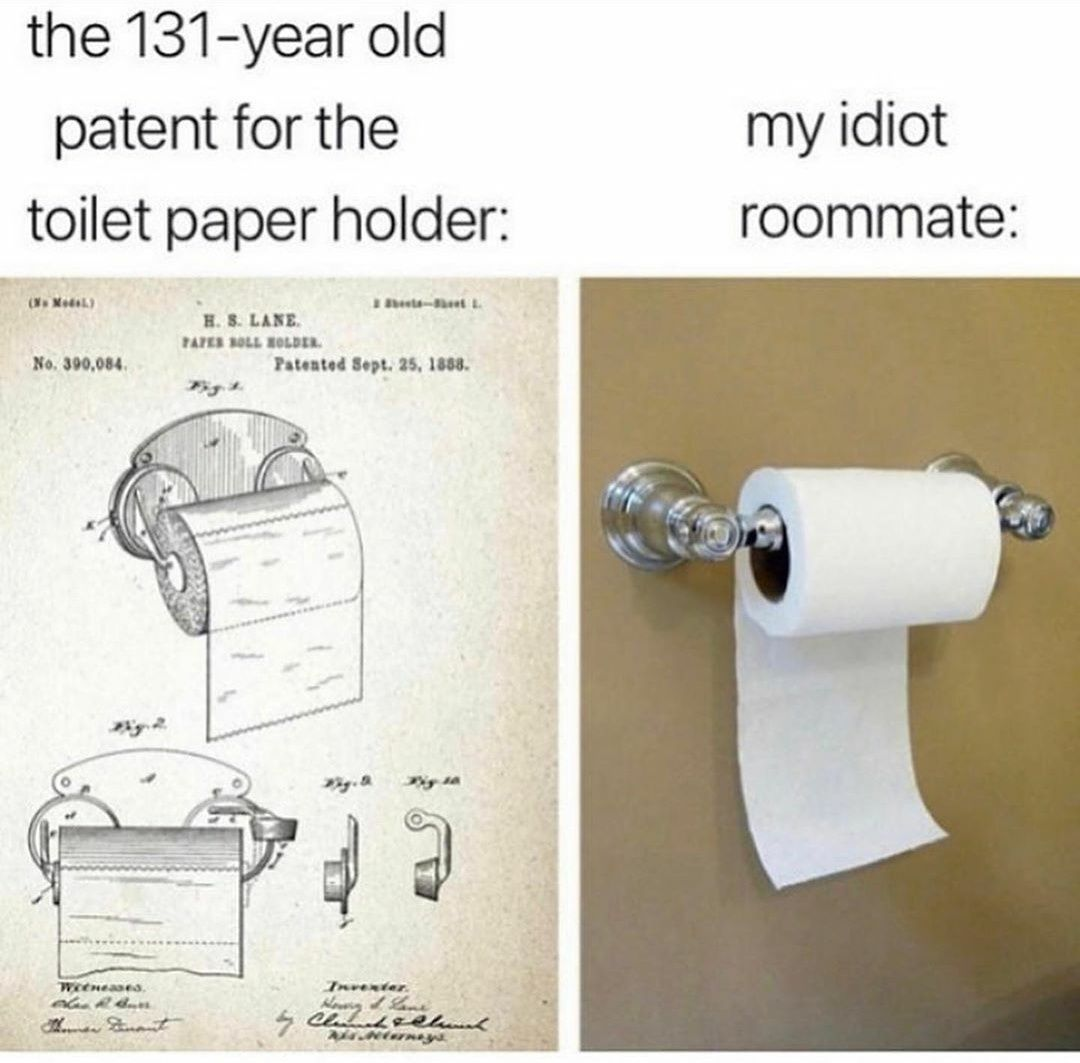 This is an insult to the GOD OF TOILETPAPER!