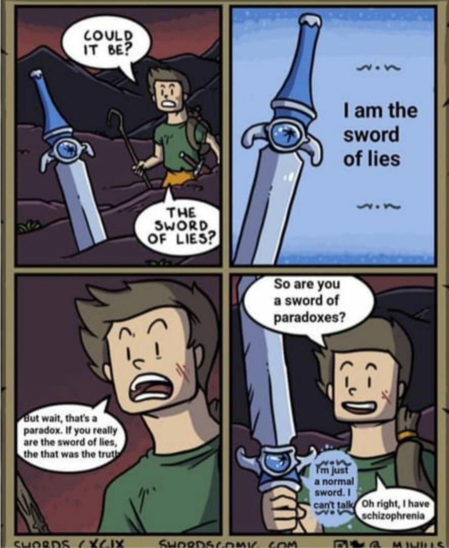 I'm just a normal sword