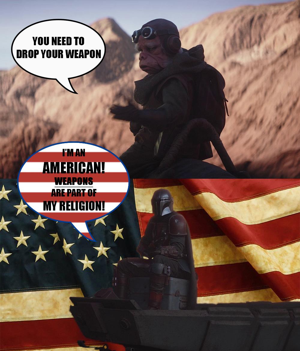 The M̶a̶n̶d̶a̶l̶o̶r̶i̶a̶n̶ AMERICAN