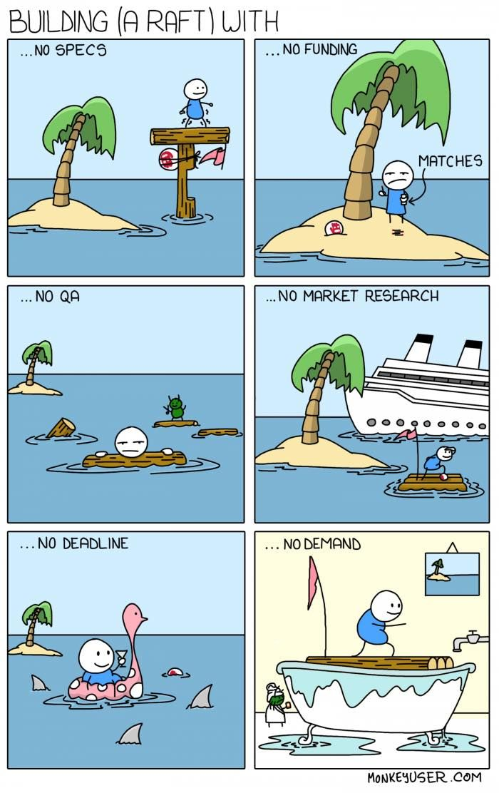 For all startups out there - funny and true combinaçao