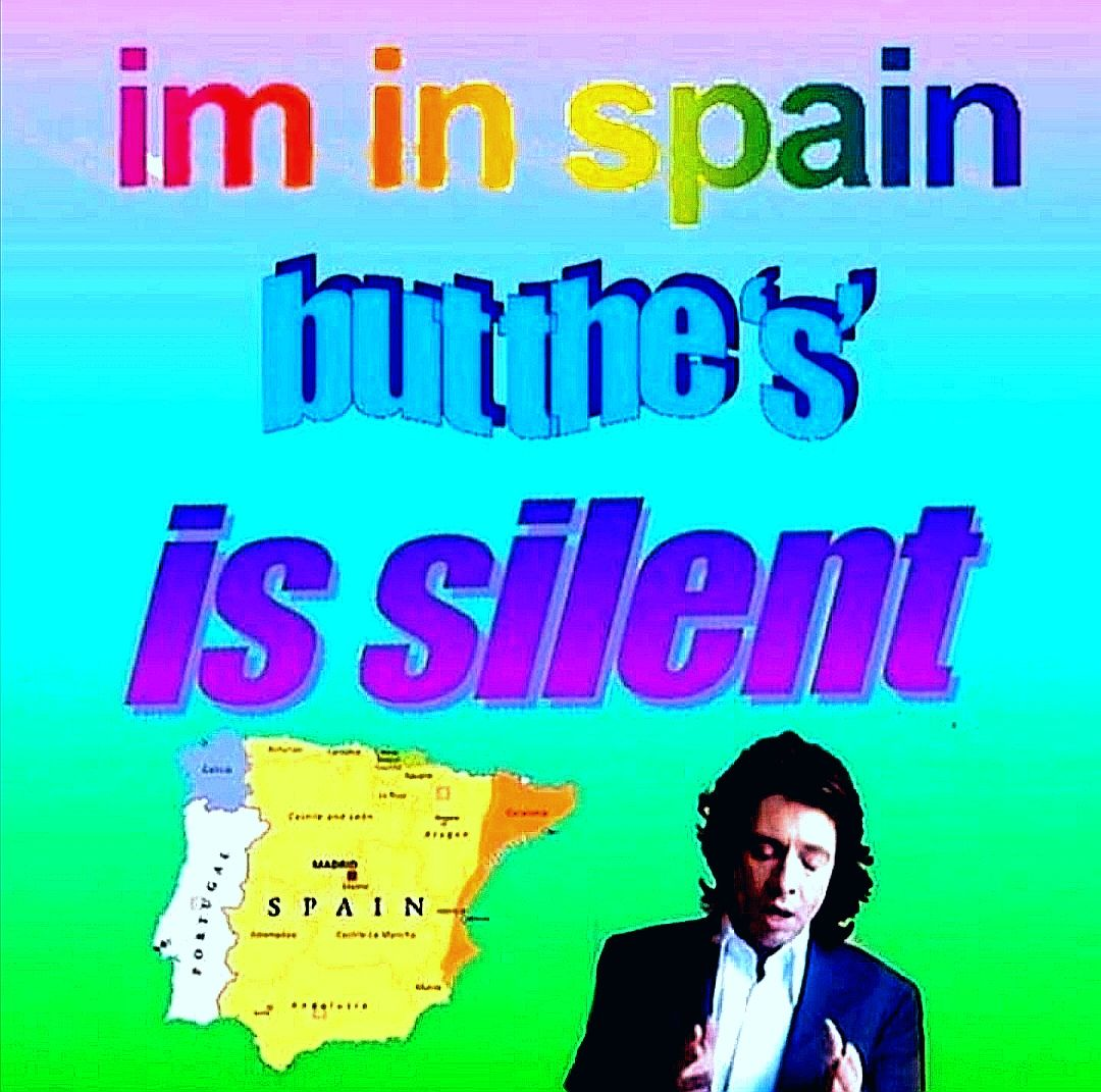I was born in Spain