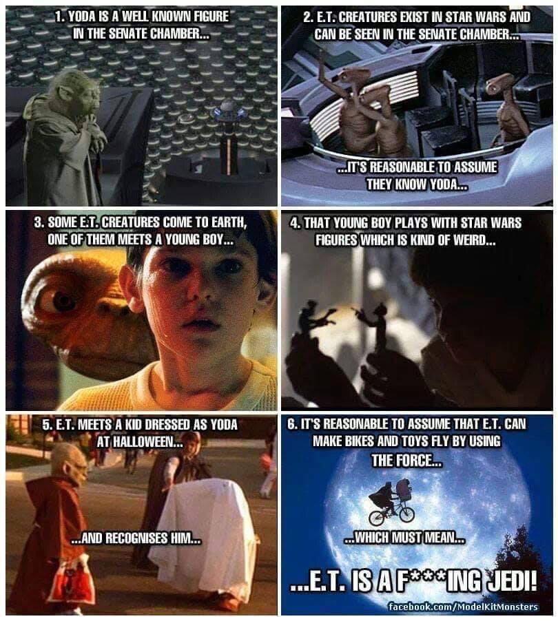 ET is a ***ing Jedi
