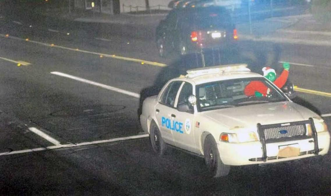 The Grinch Who Stole a Police Cruiser