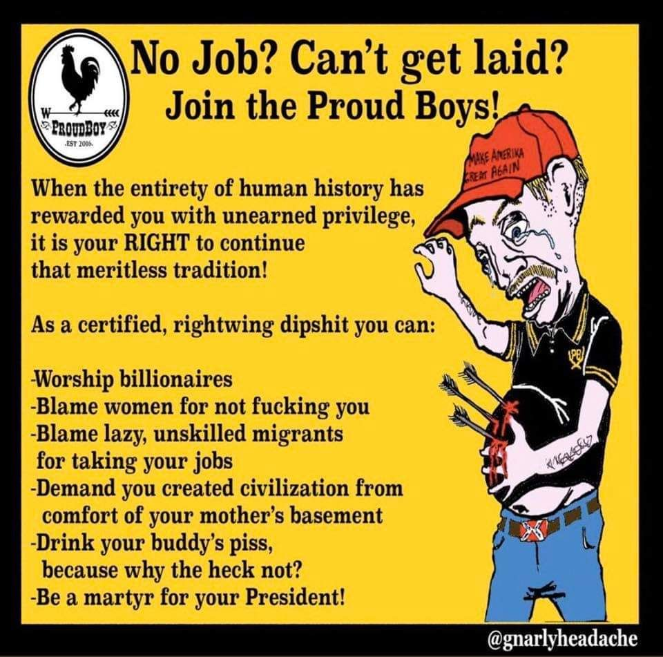 Join the proud boys