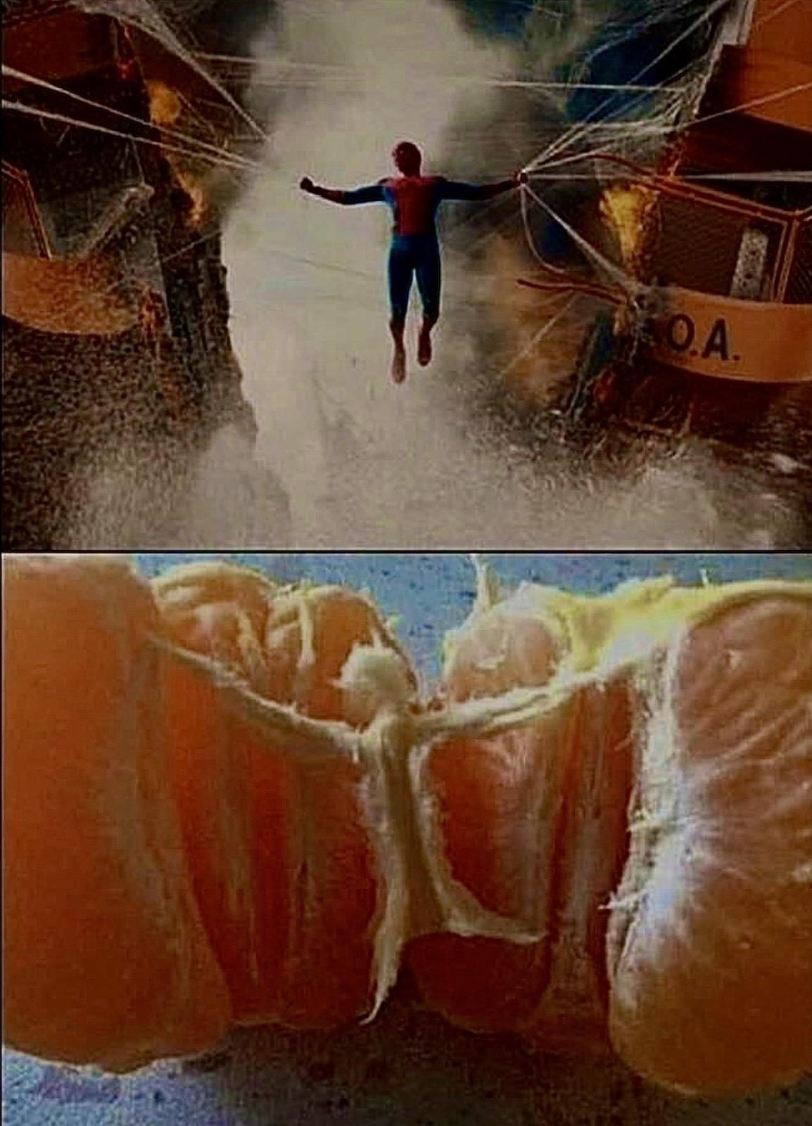 The possible real inspiration for an epic superhero scene