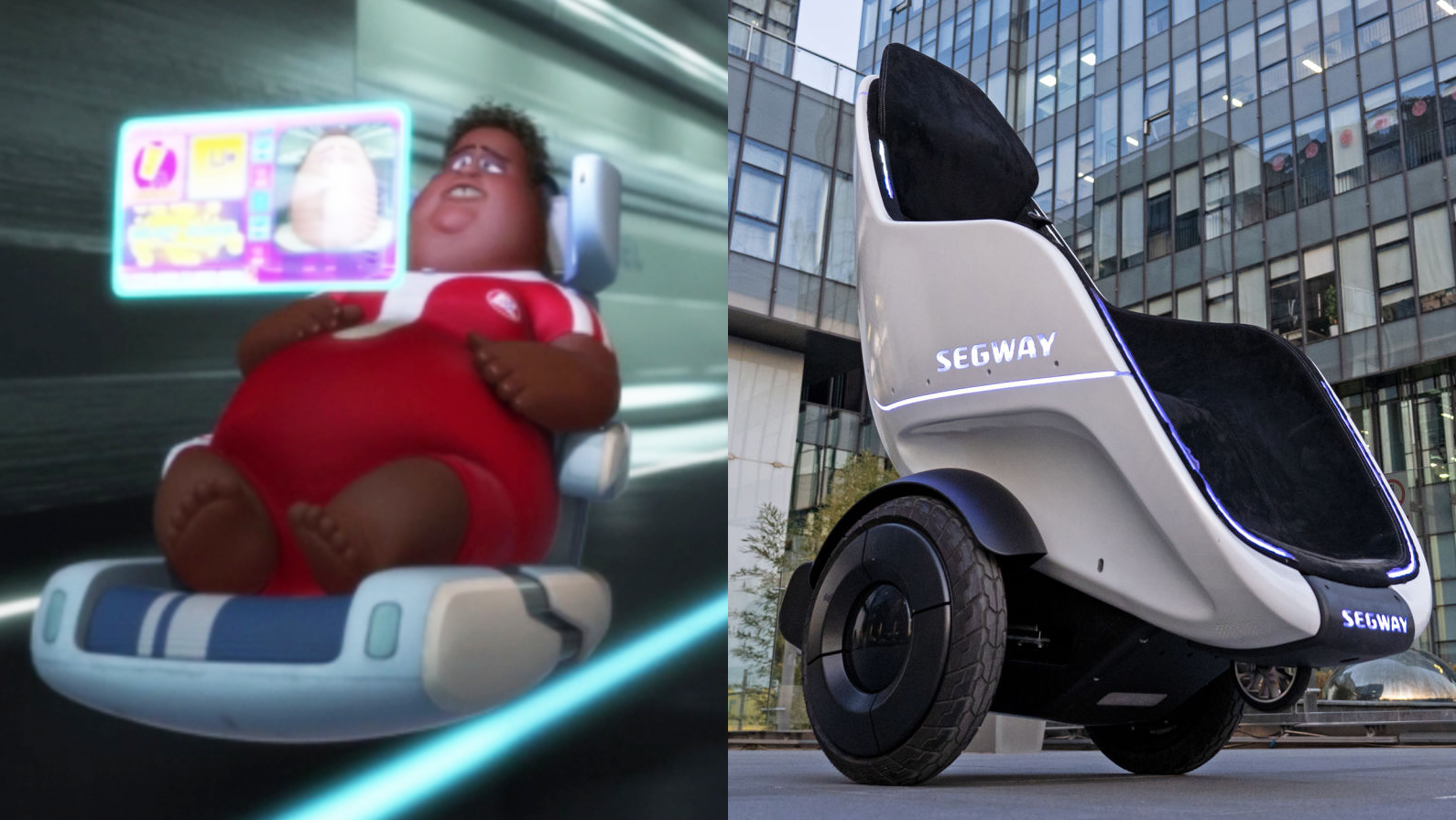 Segway announces new stroller for adults. Where have I seen this before?