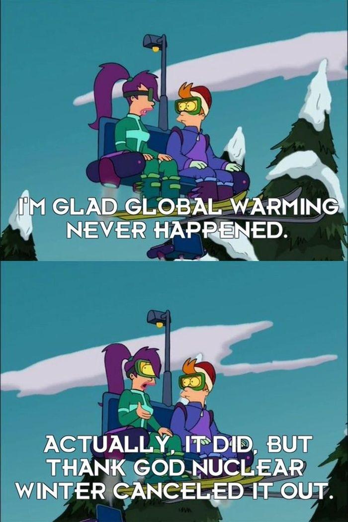 Futurama predicted WWIII