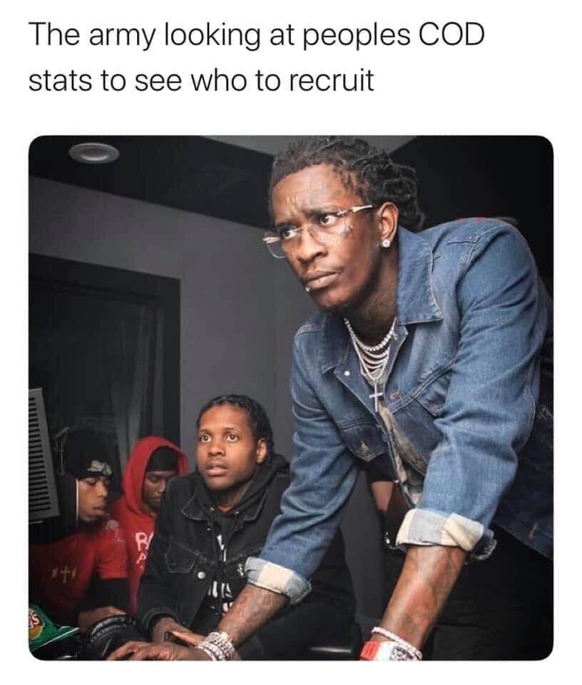 no scope