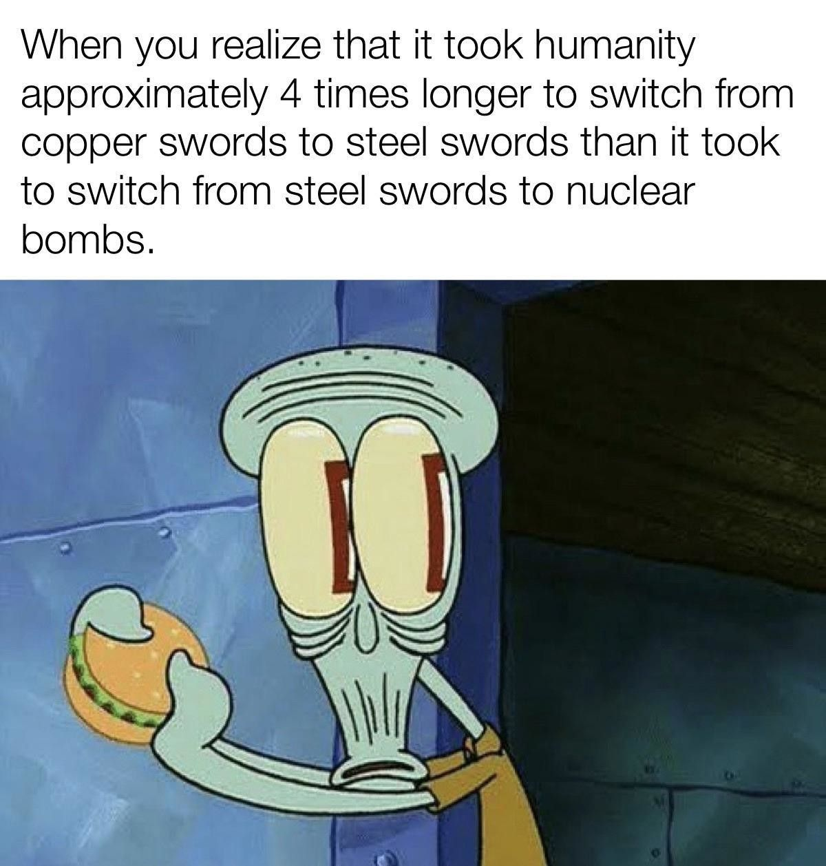 And it will take 4 times shorter to get from nukes to nuclear-powered sexdolls that can kill you