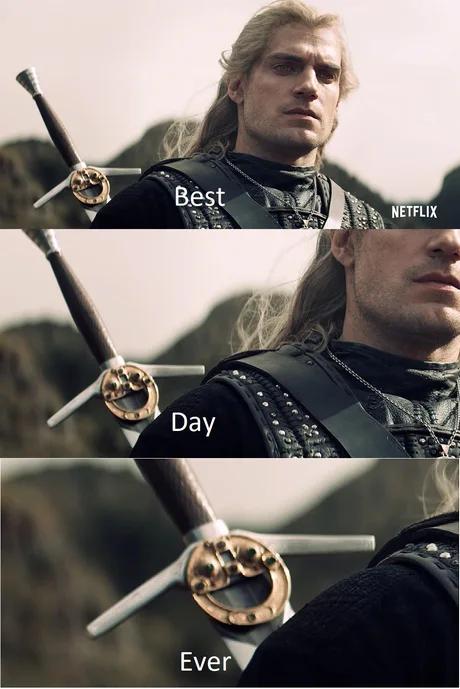 A happy little sword