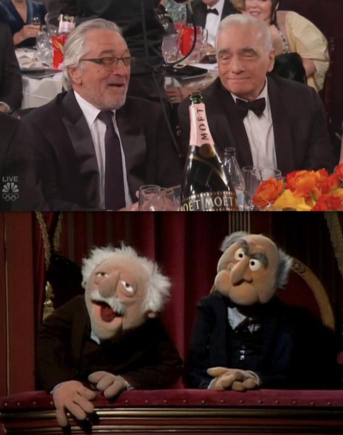 Knew I had seen this same scene before the golden globes last night