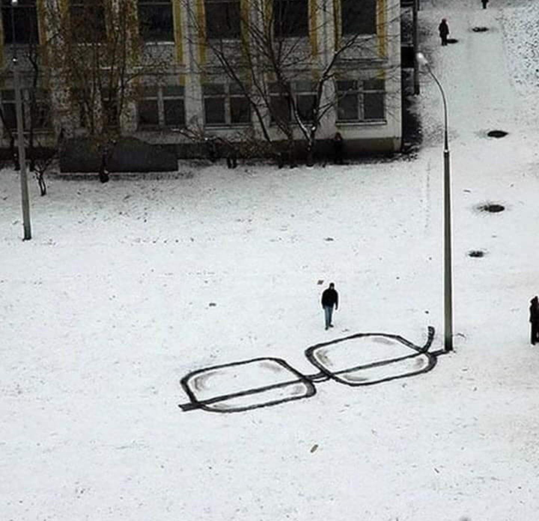 It's okay honey, I found my glasses.