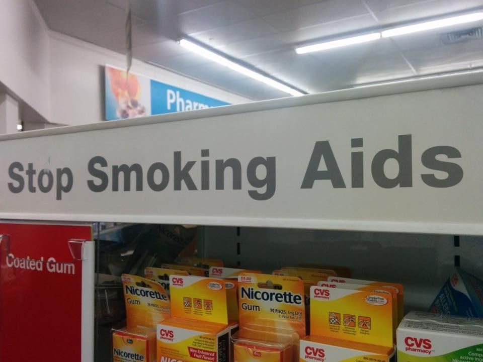 I mean I'm no doctor but yeah stop smoking AIDS