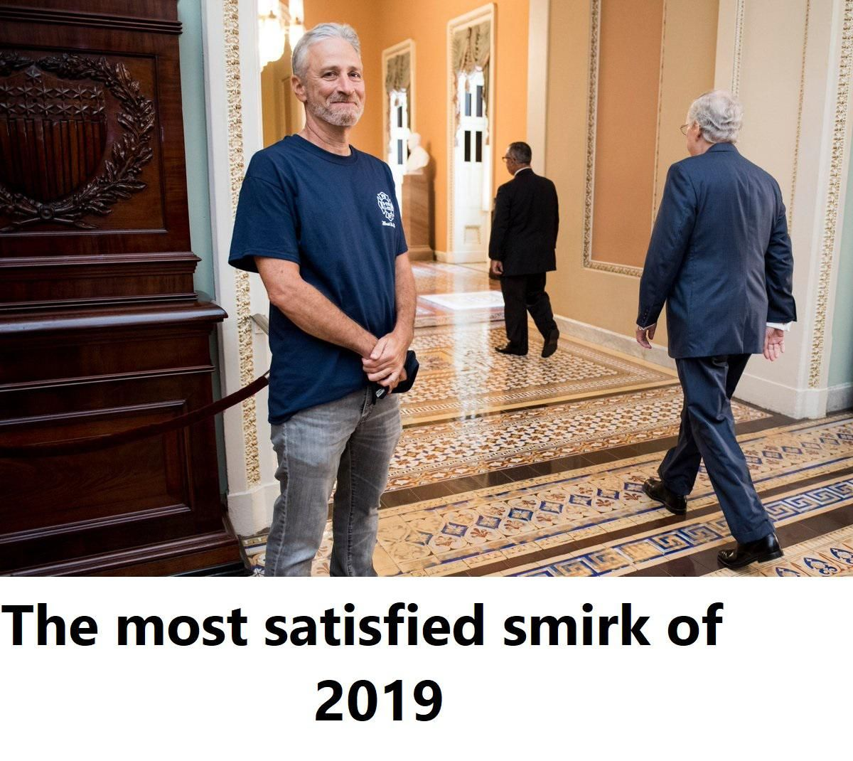The most satisfied smirk of 2019