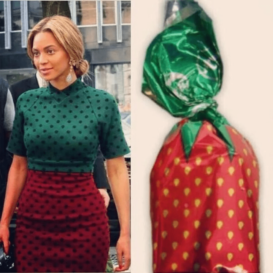 That dress reminds me of something.
