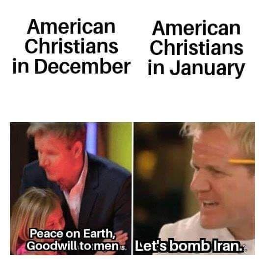 Merry Christmas Iran