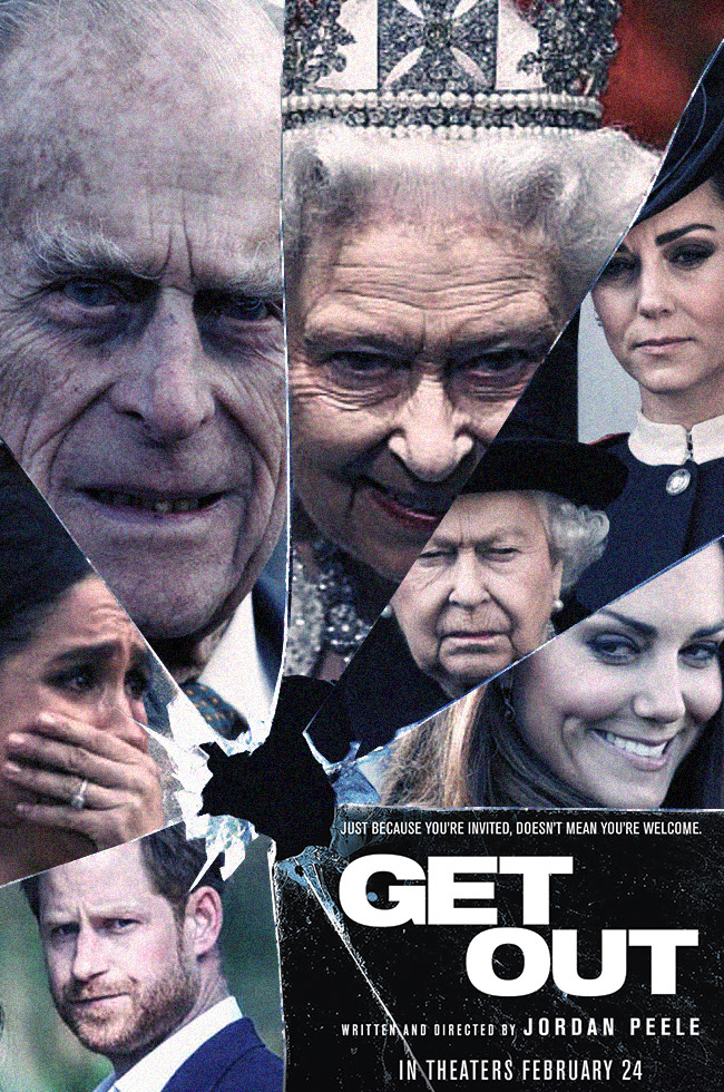Get Out - Royal Family Edition