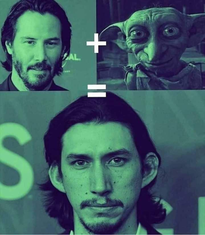 How Adam Driver was created.