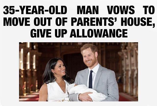 Appropriate headline.