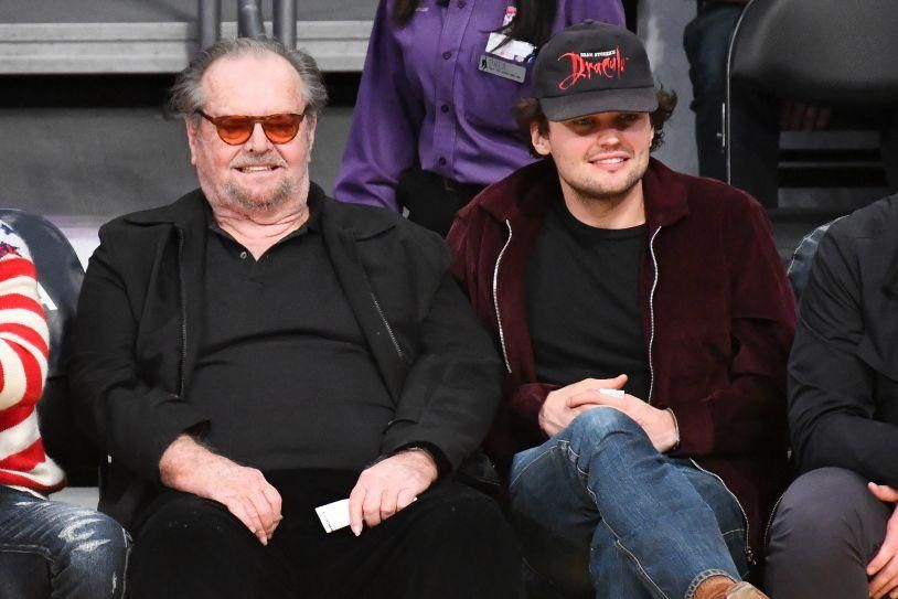 Jack Nicholson's son looks like the love child of Leonardo DiCaprio and John Mayer
