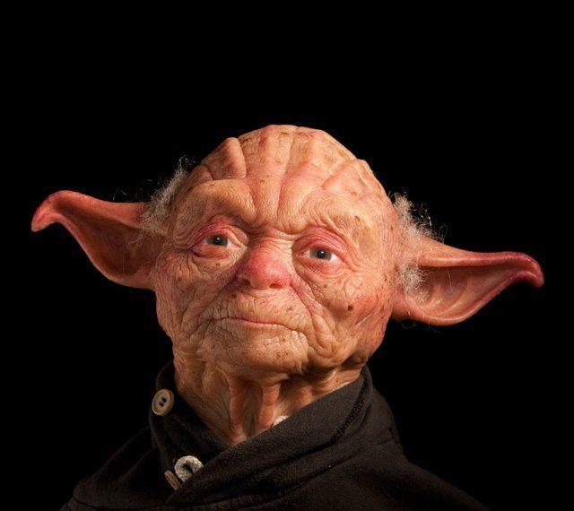 Thank god Yoda is green