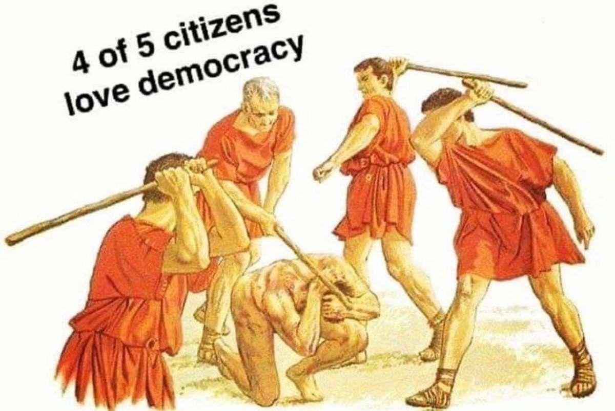 Wtf I love democracy now