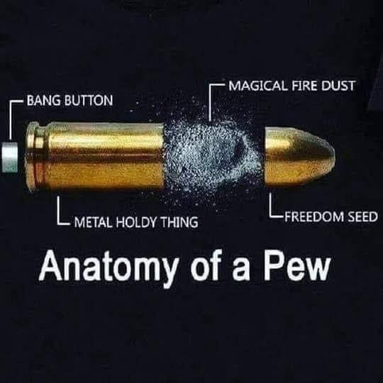 Anatomy of a pew.