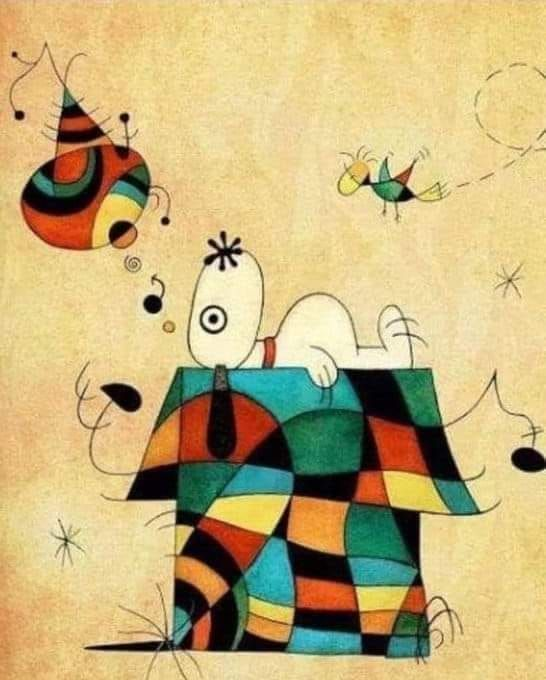 Snoopy + Kandinsky = Snoopinsky