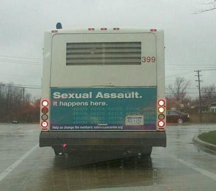 Please stay away from this bus...