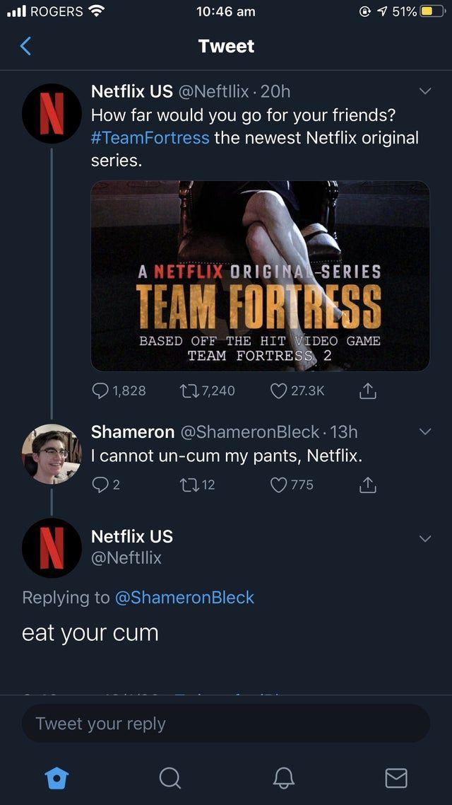 Nice one Netflix