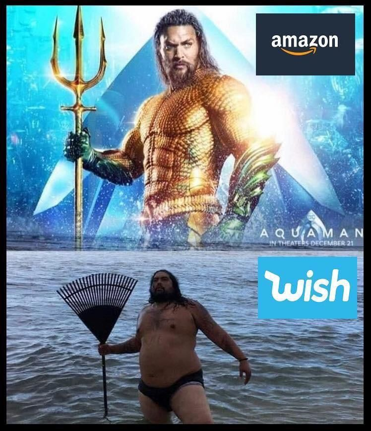 Amazon vs Wish