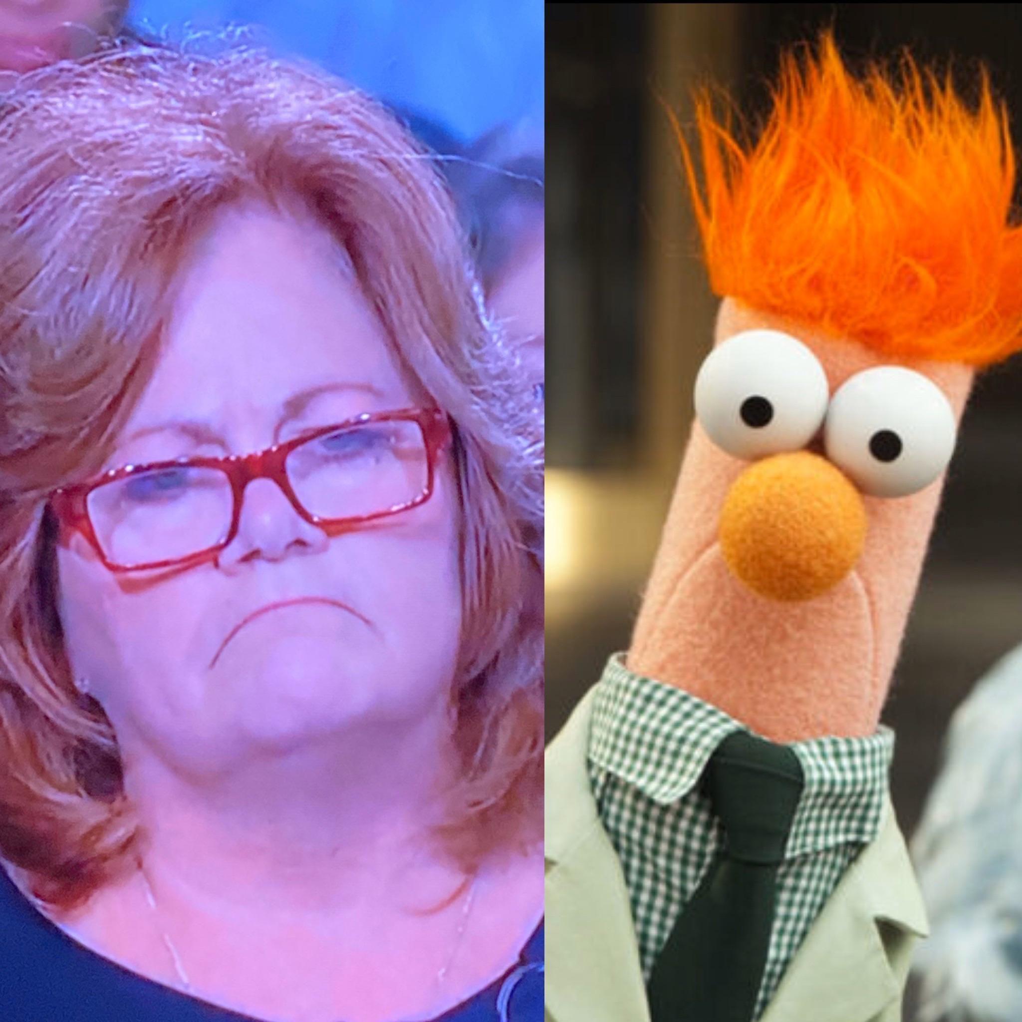 Found Beaker's doppelgänger on Judge Judy