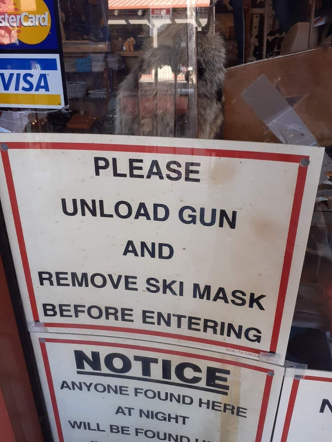 Well that solves our robbery problem.