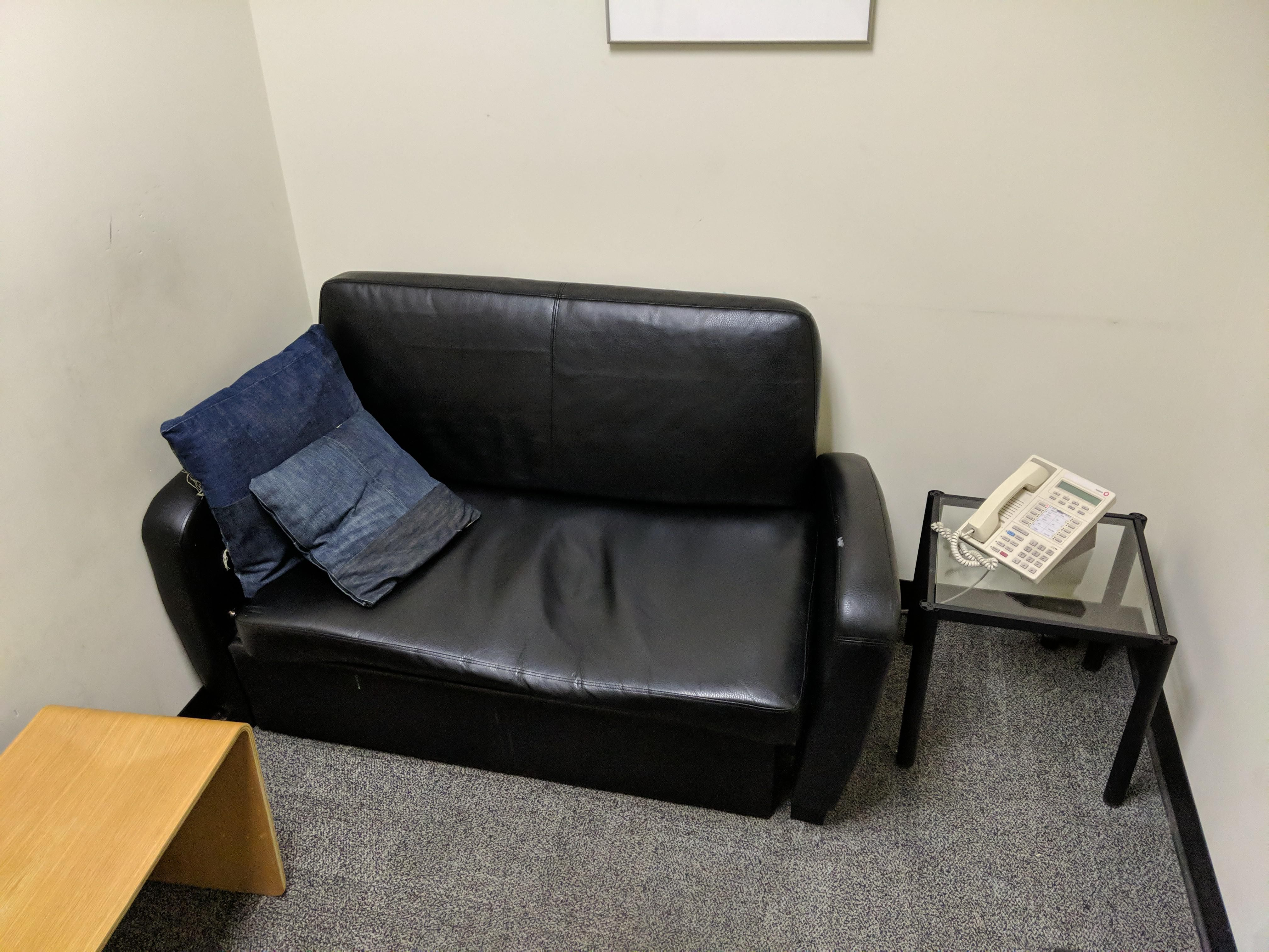 The quiet room at my job looks awfully familiar...