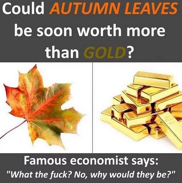 Knowning economists, this will turn out true.