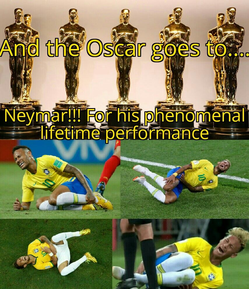 Seriously, football players should have their own category at Oscars.