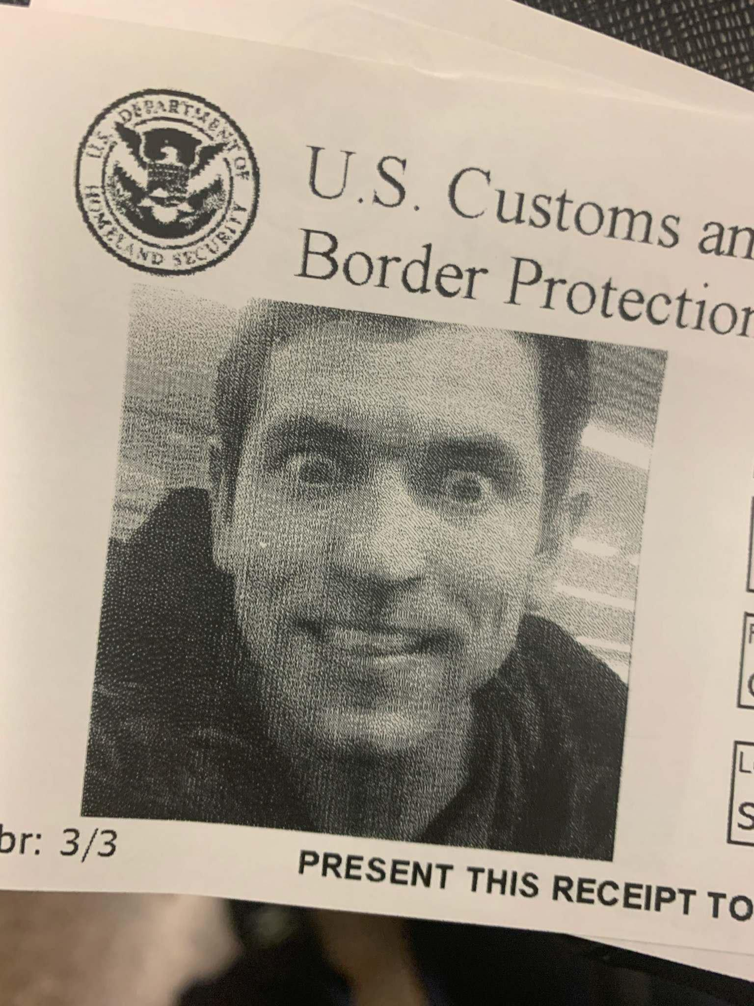 """My best friend always wonders why he gets """"randomly"""" screened in airports. This is probably why."""