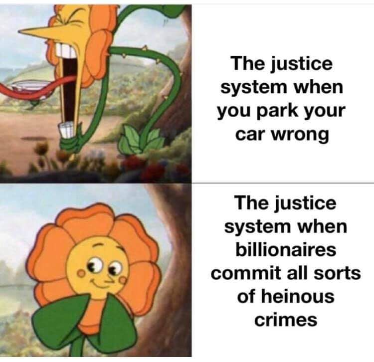 Because we all know crime is for the poor